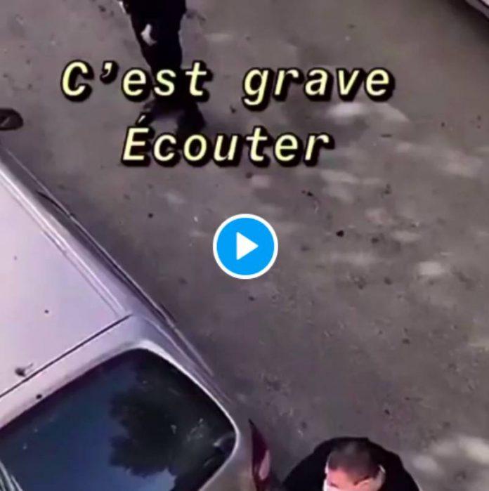 «Celui qui m'insulte, je peux lui tirer dessus maintenant» un policier menace des jeunes arme à la main - VIDEO
