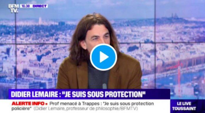 «Il n'y a plus de mixité dans les lieux publics à Trappes» persiste Didier Lemaire - VIDEO