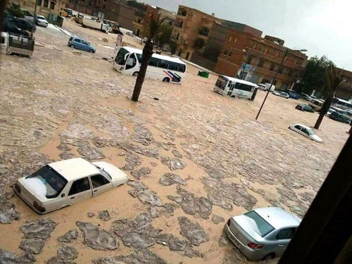 Algérie - le bilan des inondations grimpe à 10 morts dont 5 enfants