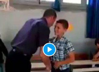 Algérie un professeur condamné par un cancer fait des adieux bouleversants à ses élèves - VIDEO