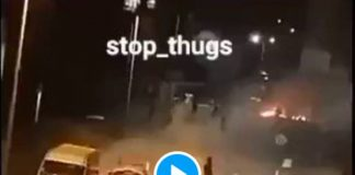 Beauvais scène de guérilla urbaine entre les jeunes et la police - VIDEO