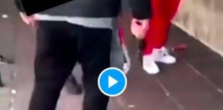 Bordeaux un policier en civil armé menace de mort des jeunes d'un quartier après l'agression supposée de sa femme - VIDEO