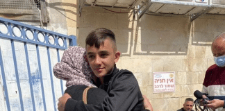 Israël condamne un garçon palestinien de 14 ans à deux mois de prison