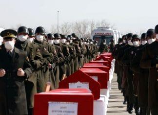 Onze morts et deux blessés dans un accident d'hélicoptère de l'armée en Turquie