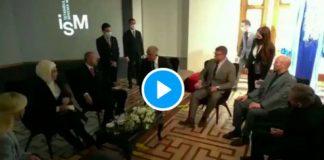 Turquie l'acteur Jason Statham et Guy Ritchie célèbrent l'anniversaire de Recep Erdogan - VIDEO