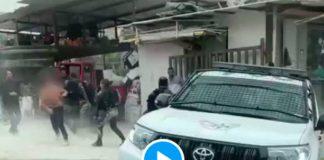 Un Palestinien échappe à une dizaine de soldats israéliens lourdement armés - VIDEO