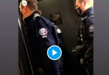 « Tu as de la chance on est à Paris, on aurait été en banlieue je t'aurais arraché la tête » menace un policier - VIDEO