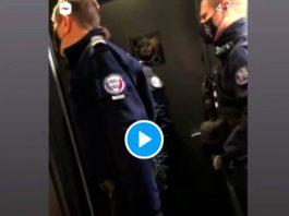 «Tu as de la chance on est à Paris, on aurait été en banlieue je t'aurais arraché la tête» menace un policier - VIDEO
