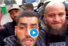 Brulux et Heuss L'Enfoiré posent avec des agents de police - VIDEO