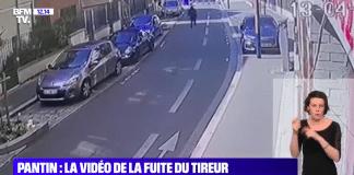 Fusillade Pantin : le tireur prend la fuite en trottinette - VIDEO