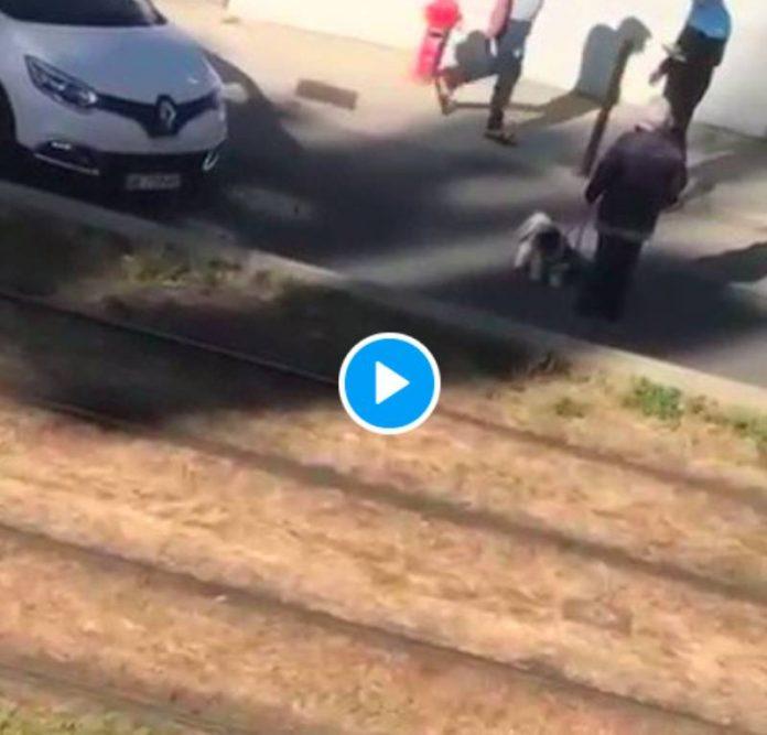 Montpellier un livreur Chronopost agressé au couteau par un client mécontent - VIDEO