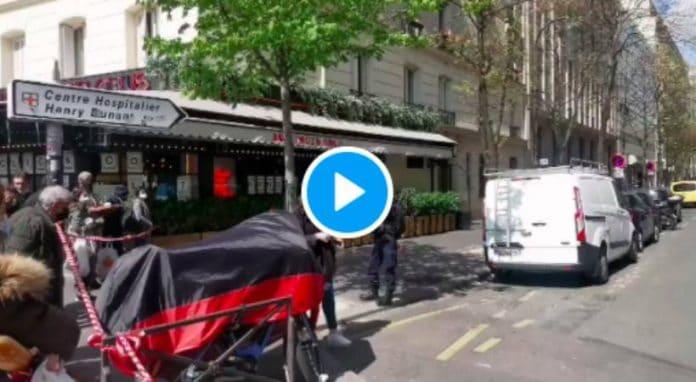 Paris fusillade dans le XVIe arrondissement, deux blessés par balles - VIDEO