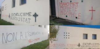 Rennes : des tags islamophobes et des menaces de morts découverts sur le mur de la mosquée Avicenne