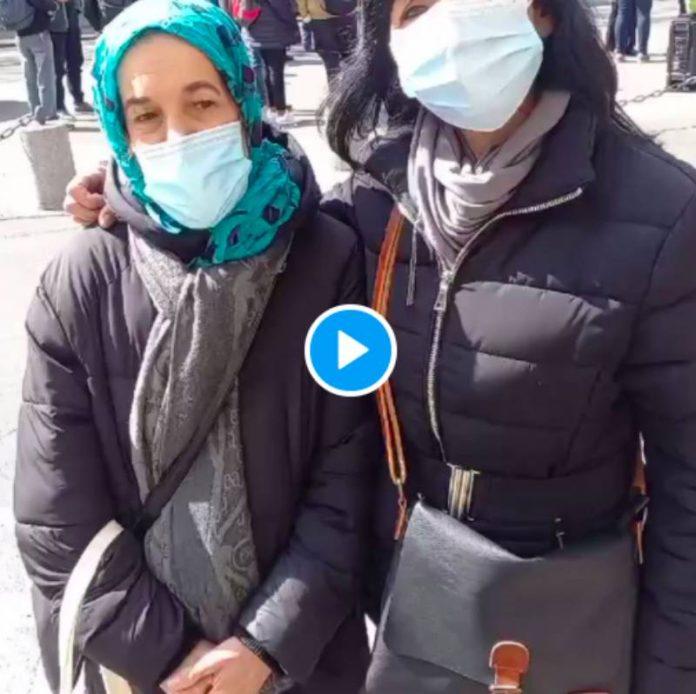 Ville de Paris Hayette et Djamila dénoncent les conditions déplorables des agents d'entretien - VIDEO