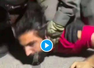 «Je ne peux pas respirer !» un Palestinien asphyxié sous le genou d'un soldat israélien - VIDEO