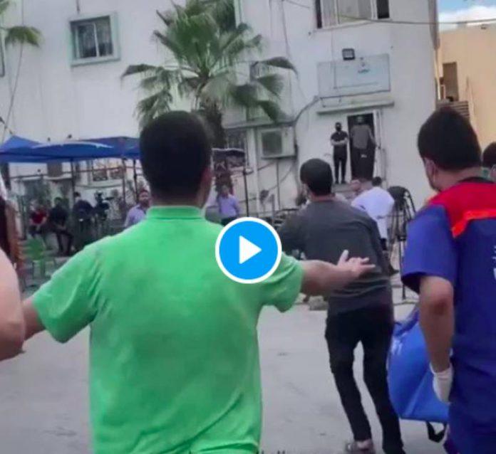«Papa revient !» les adieux bouleversants d'un fils à son père tué par l'armée israélienne - VIDEO