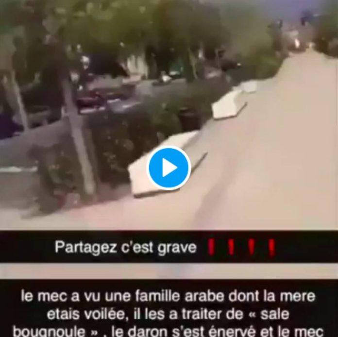 « Sale bougnoule ! » un couple de musulmans se fait tabasser par un homme à Valenciennes - VIDEO