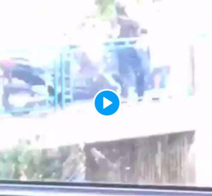 Besançon un policier frappe un jeune homme sans savoir qu'il était filmé - VIDEO