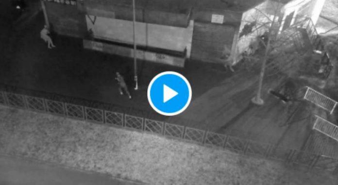 Brunoy les images glaçantes d'un tir de LBD qui a mutilé le jeune Adnane Nassih - VIDEO