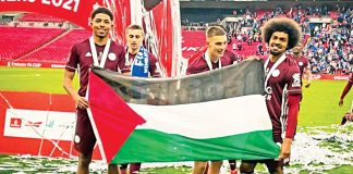 Coupe d'Angleterre - Hamza Choudhury et Wesley Fofana affichent leur soutien aux Palestiniens