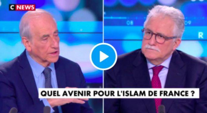 Elkabbach qualifie les musulmans de «délinquants» et de «trafiquants de drogue» face au recteur de la mosquée de Paris - VIDEO