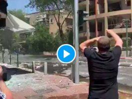 Hamas Tirs massifs de centaines de roquettes contre Tel-Aviv- VIDEO