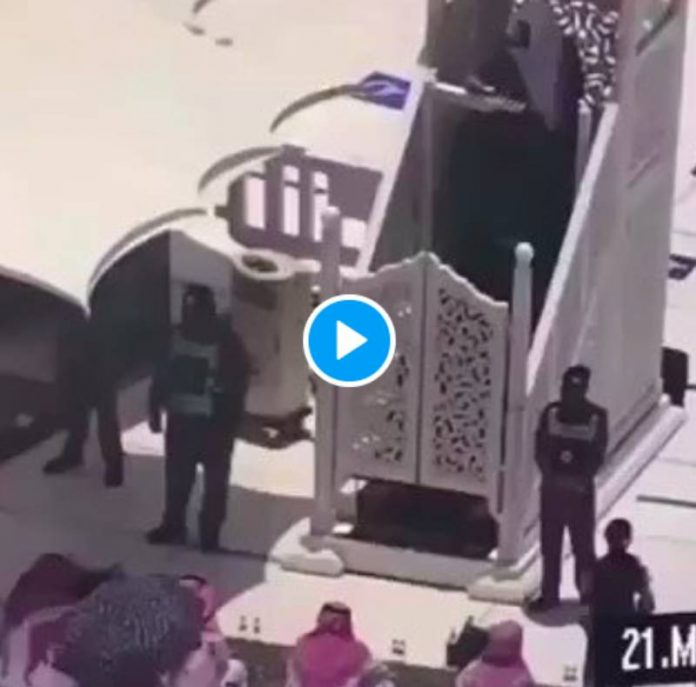 La Mecque un homme armé tente d'attaquer l'imam de La Grande Mosquée - VIDEO