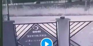 La mosquée d'Albertville victime d'un d'incendie criminel filmé - VIDEO