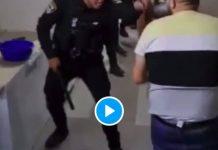 La police israélienne entre par effraction chez des Palestiniens puis les agresse violemment - VIDEO