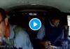 La réaction folle d'un transporteur de fonds qui fait échouer un braquage sur l'autoroute - VIDEO