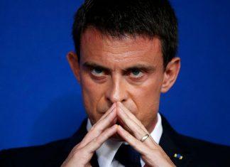 Manuel Valls proclame son total soutien à Israël avec une photo de Gaza bombardée