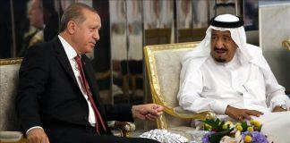 Tayyip Erdogan s'entretient avec le roi Salman au sujet des relations bilatéralesTayyip Erdogan s'entretient avec le roi Salman au sujet des relations bilatérales