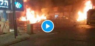Tel-Aviv sous le feu des missiles palestiniens, 3 morts israéliens - VIDEO (1)
