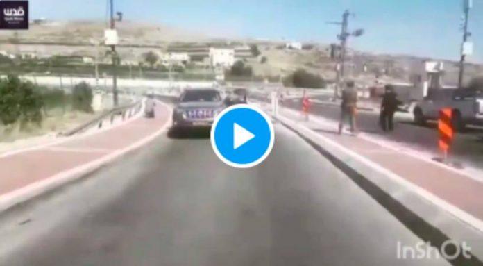 Un israélien tue de sang-froid une Palestinienne puis place une arme près de son corps - VIDEO