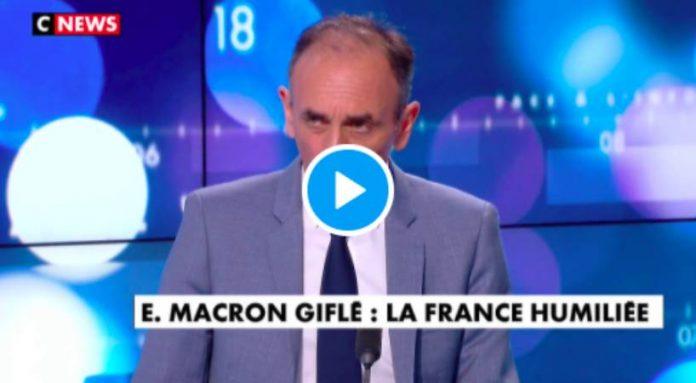 «Il a ce qu'il mérite»Eric Zemmour s'en prend à Emmanuel Macron - VIDEO