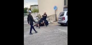 «J'ai rien fait !» des agents de sécurité interpellent violemment un jeune homme à la gare d'Avignon - VIDEO