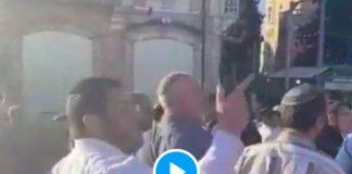 «Mohammed est mort»Les colons israéliens insultent le Prophète Mohammed ﷺ lors de la marche des drapeaux