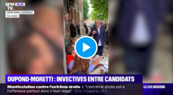 «Pittbull à Rolex» Le ministre Dupond-Moretti malmené en pleine rue par l'identitaire Damien Rieu - VIDEO