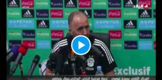 «Qu'Allah les guide» Djamel Belmadi dénonce les hommes politiques et les émission de foot en Algérie - VIDEO