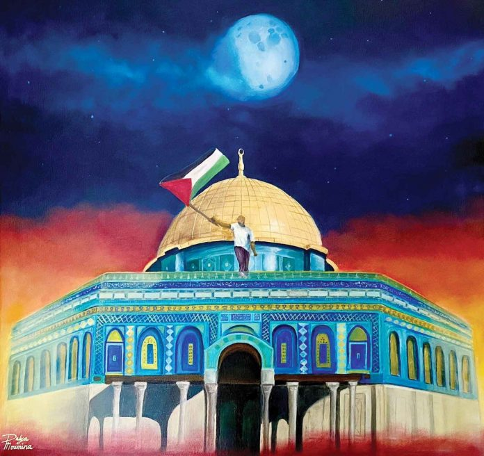 Des artistes saoudiens expriment leur solidarité avec la Palestine