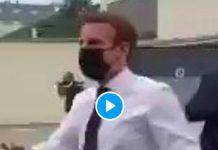 Emmanuel Macron giflé par un Français mécontent lors d'un déplacement - VIDEO