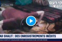 Le Hamas diffuse les images inédites du soldat israélien Gilad Shalit en captivité - VIDEO
