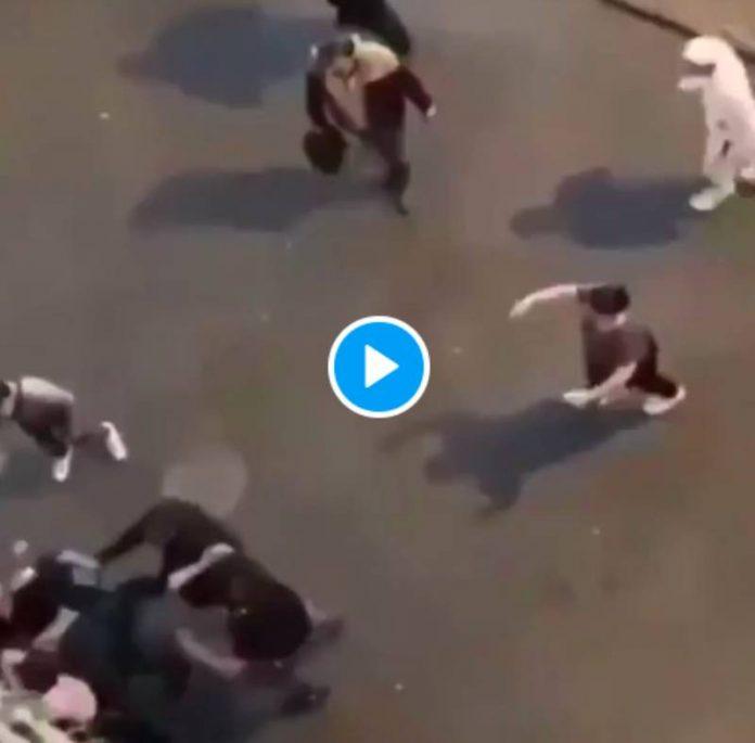 Saint-Etienne Youssoupha, 26 ans poignardé à mort par des racistes dans la rue - VIDEO