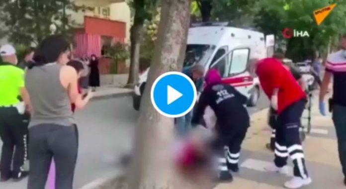 Turquie un homme tue sa femme en pleine rue devant leur fille - VIDEO