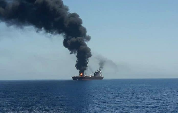 Attaque contre un navire israélien à destination des Emirats arabes unis