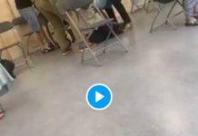 Covid-19 Quelques minutes après l'injection un homme s'effondre dans le vaccinodrome de Lyon - VIDEO (1)