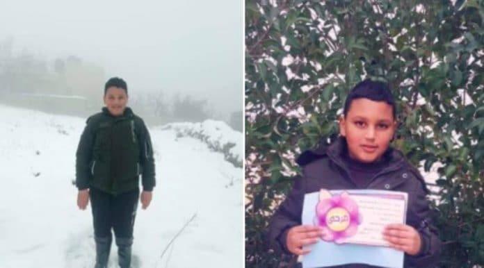 Des soldats israéliens tuent Mohammed al-Alami âgé de 12 ans d'une balle dans la poitrine