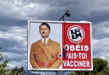 Emmanuel Macron dépose plainte contre l'auteur d'une caricature le représentant en Adolf Hitler