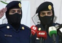 Hajj - une femme soldat organise le premier briefing de sécurité à La Mecque