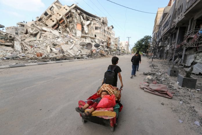 L'Egypte réitère son attachement à la reconstruction de Gaza